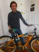 customización bici Leo, Buenos Aires